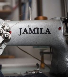 Habiller une nation avec Jamila