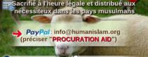 Offrez votre mouton de l'Aid pour les démunis
