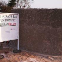Nouveau forage à Diary (Guinée)